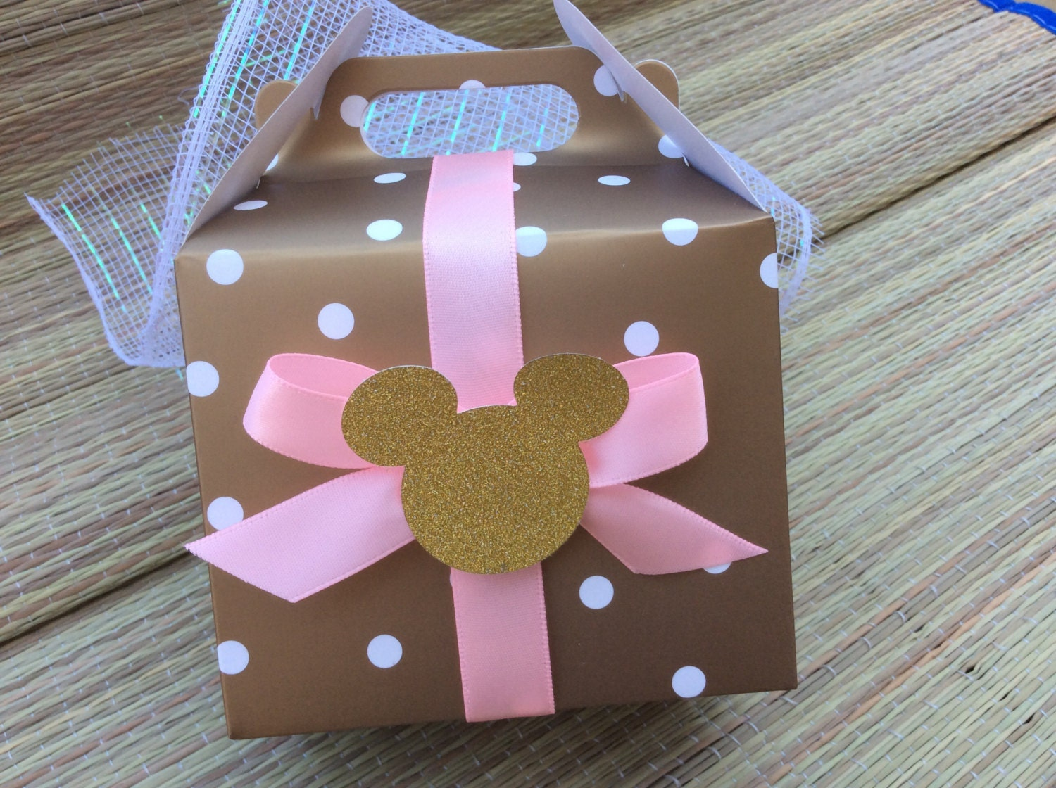 minnie mouse treat bag minnie mouse birthday party