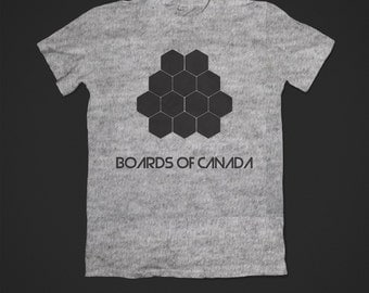 Boards of Canada Hexagons shirt Aphex Twin
