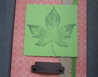 Autumn Maple card