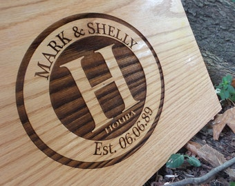 Custom Cutting Board - Parent gifts for wedding - wedding gift