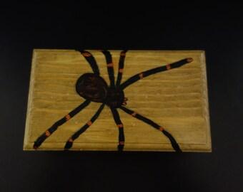 Wooden Spider Box