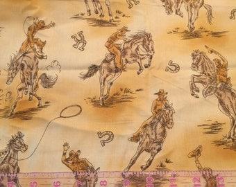 Half Yard Cowboy Fabric