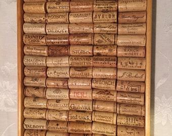 Handmade cork tray