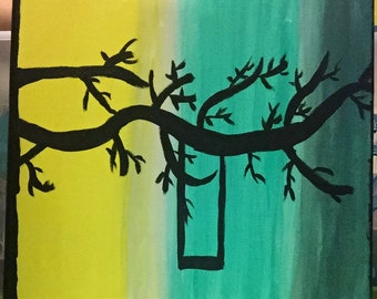 Abstract Swing Canvas