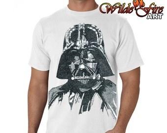 Men's Darth Vader T Shirt (Star Wars)