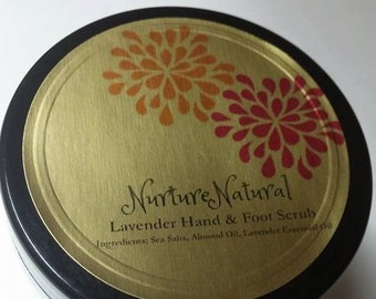 Lavender Hand and Foot Scrub