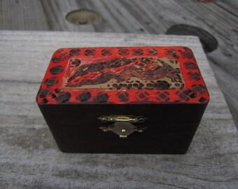 Abstract Dragon keepsake box