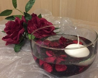Flower Gel Candle
