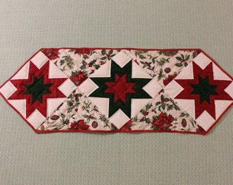 Christmas Star Table Runner