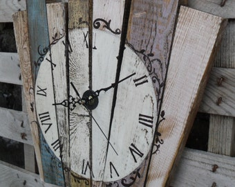 wall clock wood