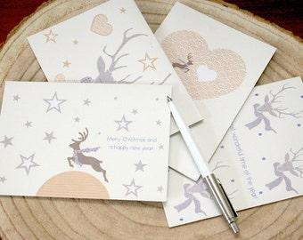 Set Mr Deer cards