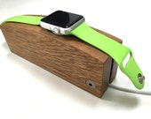 Apple Watch charging stand  oak  hand made