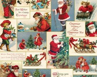 Cavallini Victorian Christmas Wrap Paper