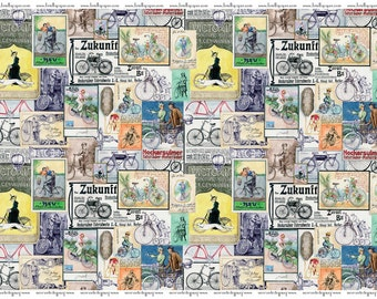 Briella Paper Bicycles Wrap Paper