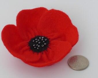 Poppy brooch - Remembrance Day