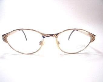 Cazal Eyeglasses Vintage Rare gold frame