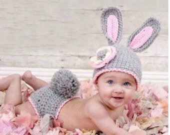 My Little Bunny Handmade Crocheted Outfit