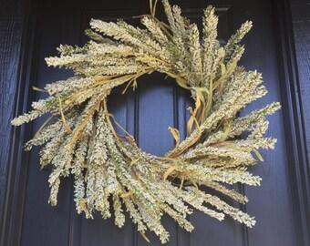 "Beautiful large fall wreath 30"""