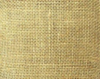 Bengal Burlap Fabric / Burlap by the Yard / Natural Burlap Fabric / Burlap Jute / Burlap Material