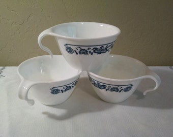 Corelle Old Town Blue Open Handle Cups