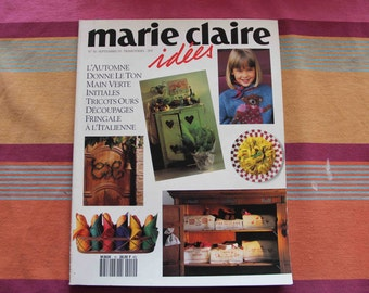 Marie Claire ideas, 1993, no. 10, September 1993 number COLLECTOR!