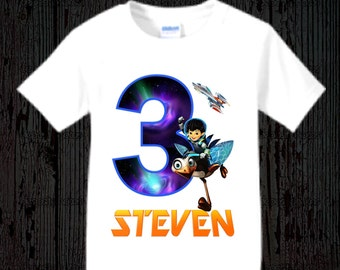 Miles from Tomorrowland Birthday Shirt - Short or Long Sleeves