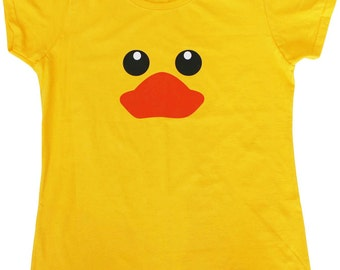 Rubber Duck Funny Female Fit Womens T-Shirt