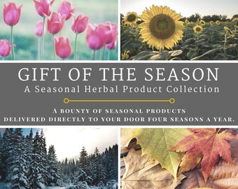 Gift of the Season: A Seasonal Herbal Product Collection