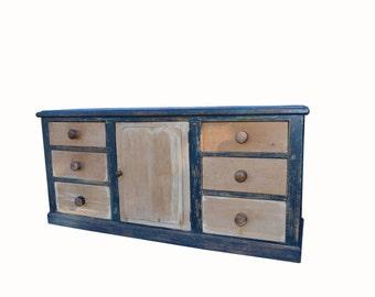 Antique distressed cupboard