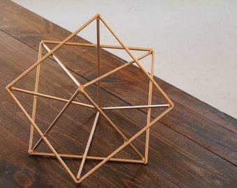 Minimalist Art Sculpture Modern Metal Sculpture Geometric Sculpture Minimalist Decor Home Decor