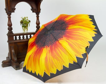 Sunflower. Art umbrella