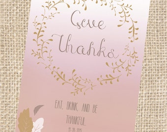 Friendsgiving / Thanksgiving Invitation