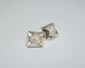 Pearls and Silver Studs