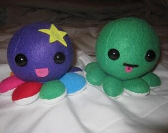 Custom-Made Octoplushies