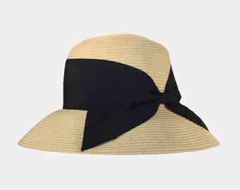 Blake Wide Brim Cloche Women's Hat