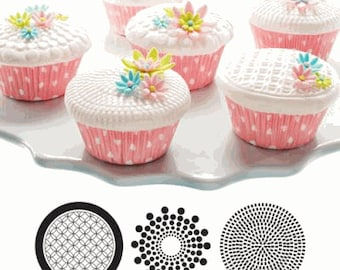 Geometric, Cupcake and Cookie Texture Tops