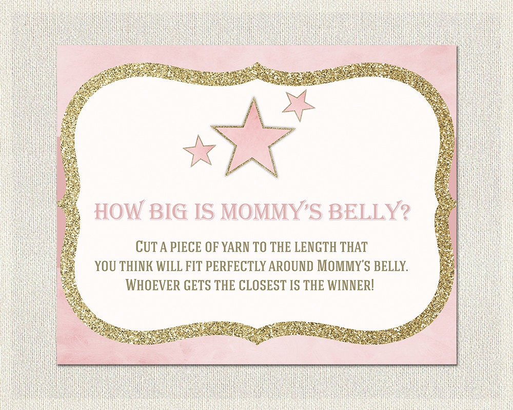 It's just a picture of Enterprising How Big is Mommy's Belly Printable