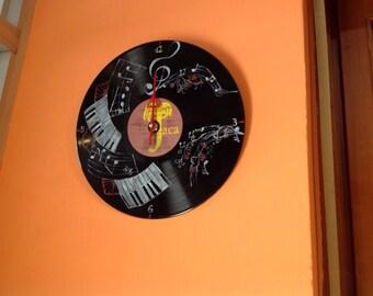 Disk clock of love