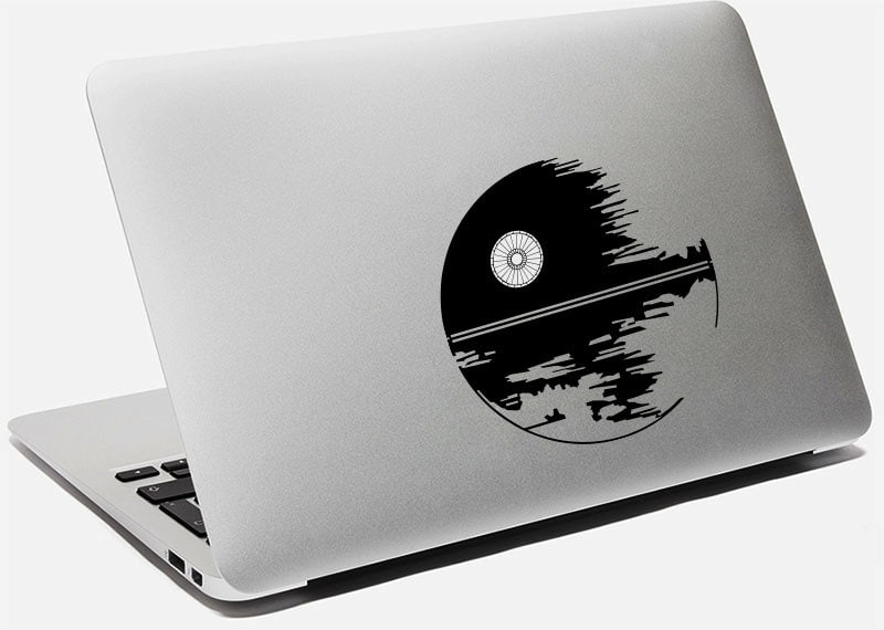 MacBook Decal Macbook Vinyl Decal Macbook Star Wars Sticker - Custom vinyl decals for macbook pro