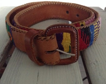 the Guatemala women belt
