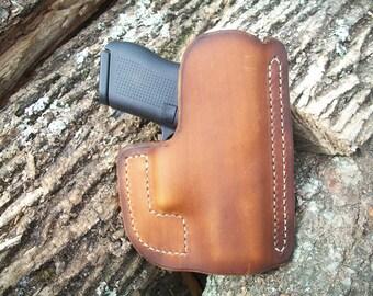 Brown Pocket Holster / Glock 43