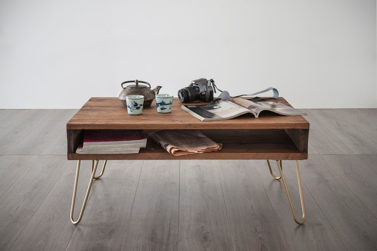 Table basse 60 x 90 cm table caf personnalisable media for Table basse personnalisable