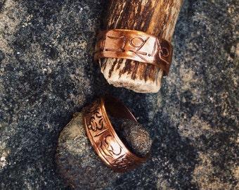 Ring copper adjustable