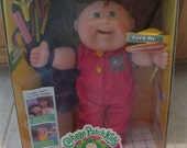 Snacktime Kid Cabbage Patch Doll Arlie Patrice New