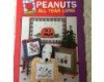 Peanuts all Year Cross Stitch Book