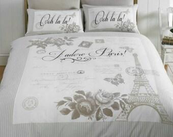 Paris Single Duvet Set