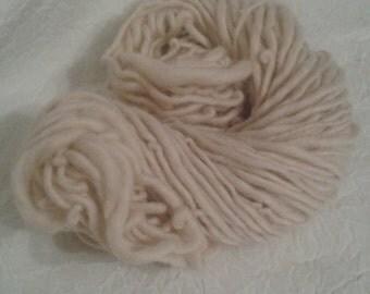 Hand spun yarn 50 yards