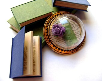 Brooch or pendant for a book worm - several options