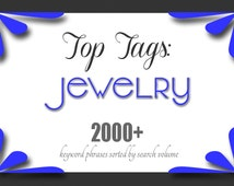 Jewelry Shop Help | Necklace Tags| Top Etsy Keywords | SEO For Etsy Shops | Improve SEO |How To Sell Jewelry |Better Tagging |Jewellery Shop