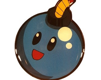 Bomb Cutie Lapel Pin - Gamer Collectible Pin - WTBPotions Exclusive Pin